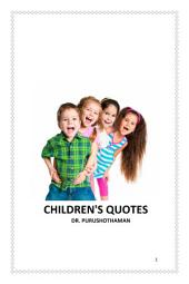 Children's Quotes
