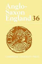 Anglo-Saxon England: Volume 36