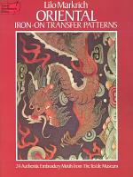 Oriental Iron-On Transfer Patterns