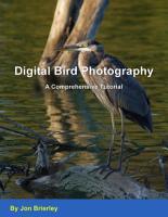 Digital Bird Photography   A Comprehensive Tutorial PDF