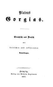 Platons werke: Griechisch und deutsch mit kritischen und erklärenden Anmerkungen, Bände 21-24