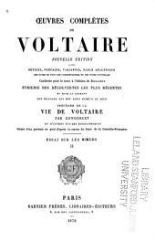 Œuvres complètes de Voltaire: Essai sur les mœurs. 1878