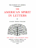 The American Spirit in Letters PDF