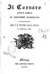 Il corsaro azione mimica di Giovanni Galzerani