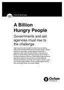 A billion hungry people