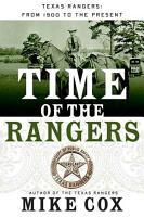 Time of the Rangers PDF