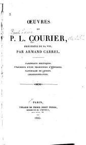 Œuvres de P.L. Courier