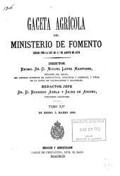 Gaceta Agrícola: Volumen 14