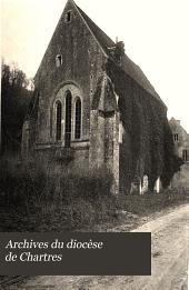 Archives du diocèse de Chartres: Volume7