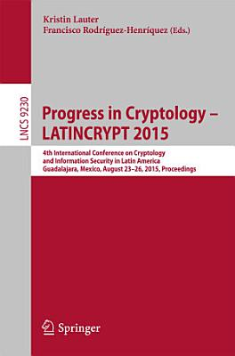 Progress in Cryptology    LATINCRYPT 2015