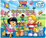 Fisher-Price Little People Lift the Flap Book Spring is Here!