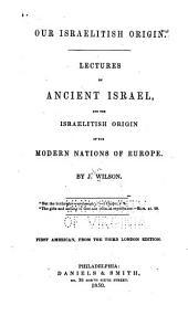 Our Israelitish Origin