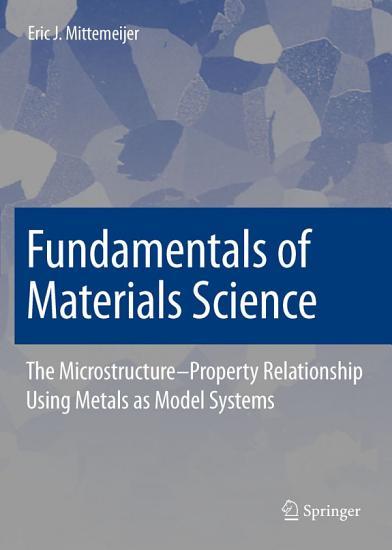Fundamentals of Materials Science PDF