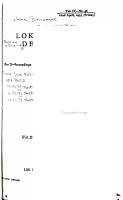 Lok Sabha Debates PDF