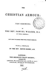 The Christian Armour 10 Sermons Publ By E Sidney Book PDF