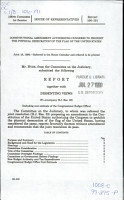 Constitutional Amendment Authorizing Congress to Prohibit the Physical Desecration of the Flag of the United States PDF