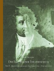 Der Fall Berliner Theatermuseum Teil II PDF
