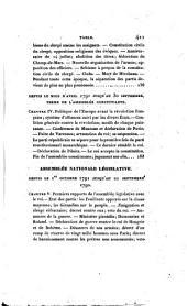 Histoire de la Révolution française, depuis 1789 jusqu'en 1814 par F. A. Mignet: Volume1