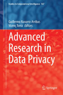 Advanced Research in Data Privacy