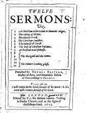 Twelve Sermons, etc