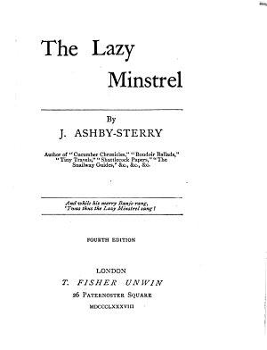 The Lazy Minstrel PDF