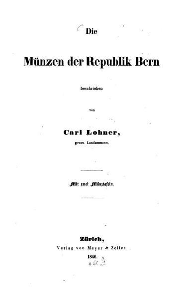 Die M  nzen der Republik Bern PDF
