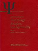 APA Handbook of Psychology  Religion  and Spirituality PDF