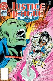 Justice League America (1987-) #77