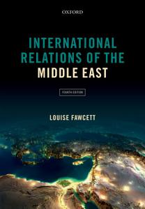 International Relations of the Middle East Book