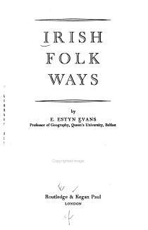 Irish Folk Ways PDF