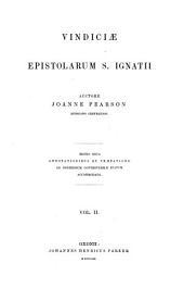 Vindiciae epistolarum Sancti Ignatii