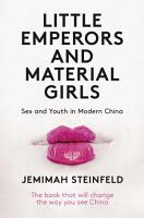 Little Emperors and Material Girls PDF