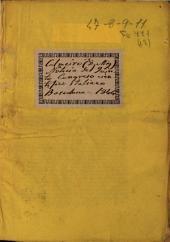 Noticia de las materias relativas á ciencias médicas que ocuparon al quinto Congreso científico italiano, reunido en Luca en septiembre de 1843