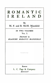 Romantic Ireland: Volume 1