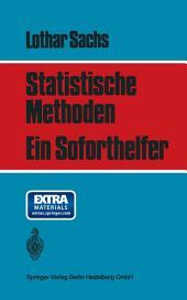 Statistische Methoden: Ein Soforthelfer
