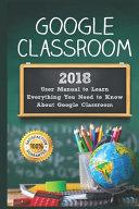 Google Classroom Book