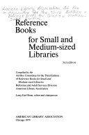 Reference Books for Small and Medium sized Libraries PDF