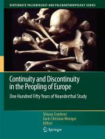 Continuity and Discontinuity in the Peopling of Europe PDF