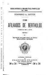 Afilhados de Bertholdo: comedia em 1 acto