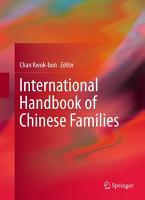 International Handbook of Chinese Families PDF