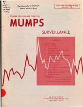 Mumps surveillance
