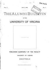 The Alumni Bulletin: Volumes 5-6