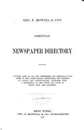 Rowell's American Newspaper Directory