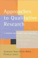 Approaches to Qualitative Research