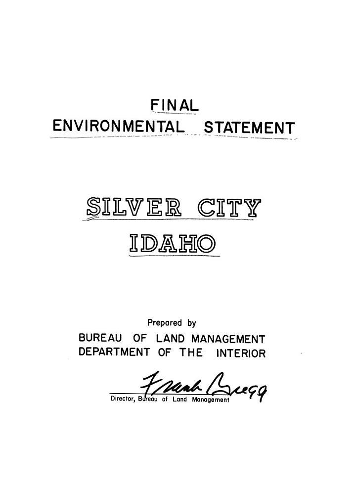 Silver City, Idaho