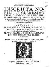 Epaenesis gratulatoria inscripta nobili et clarissimo viro D. Iodoco Brumio Hildesheimensi ... inauguraretur