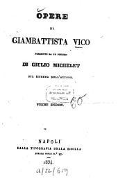 Opere: Precedute da un discorso di Giulio Michelet sue sistema dell'autore, Volume 2