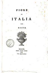 Fiore di Italia con note