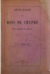 Généalogie des rois de Chypre de la famille de Lusignou
