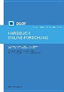Handbuch Online Forschung  Sozialwissenschaftliche Datengewinnung und  auswertung in digitalen Netzen PDF